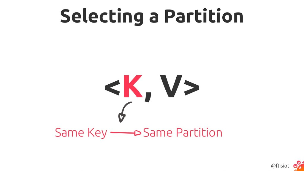 @ftisiot Selecting a Partition <K, V> Same Key ...