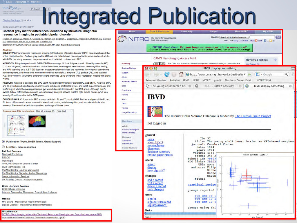 Integrated Publication