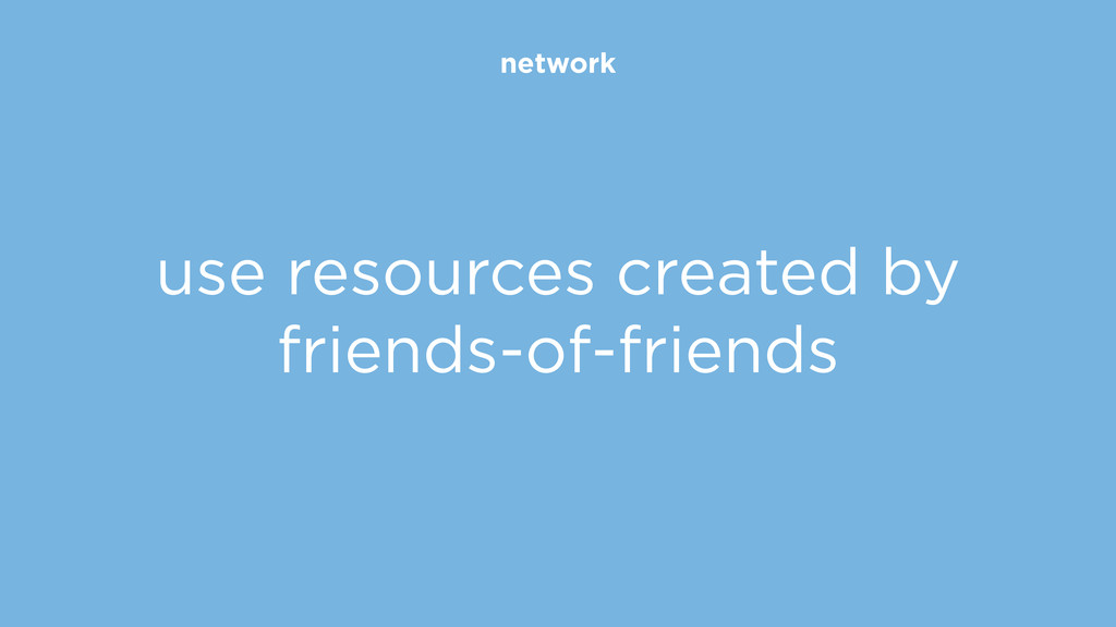 network use resources created by friends-of-fri...
