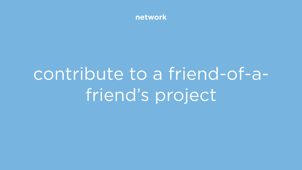 network contribute to a friend-of-a- friend's p...