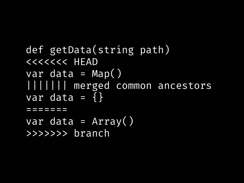 def getData(string path) <<<<<<< HEAD var data ...