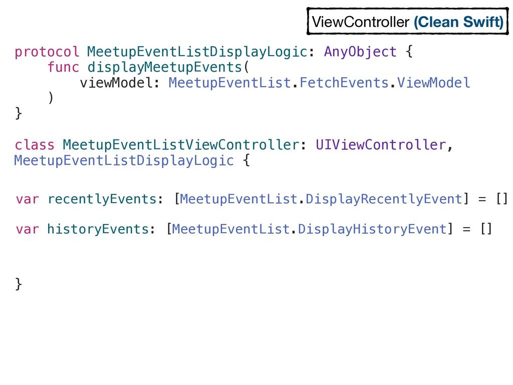 var recentlyEvents: [MeetupEventList.DisplayRec...
