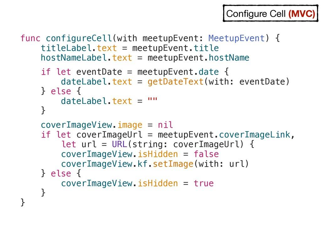 func configureCell(with meetupEvent: MeetupEven...
