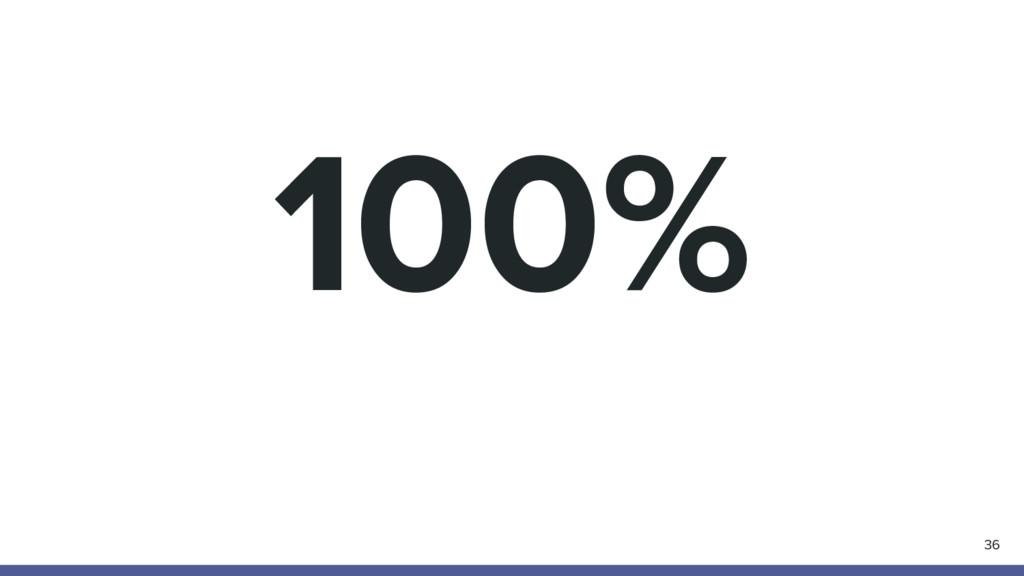 100% 36