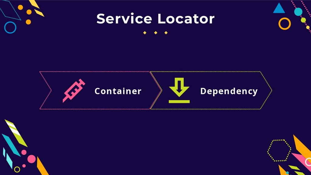 Service Locator Container Dependency