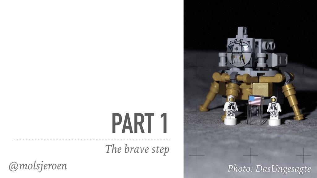 @molsjeroen PART 1 The brave step Photo: DasUng...