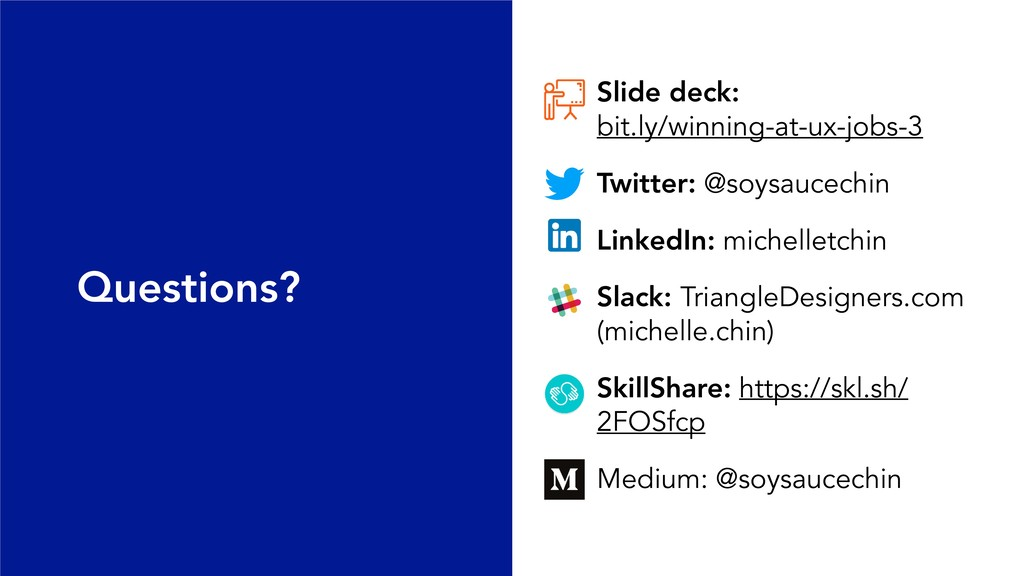 Slide deck: