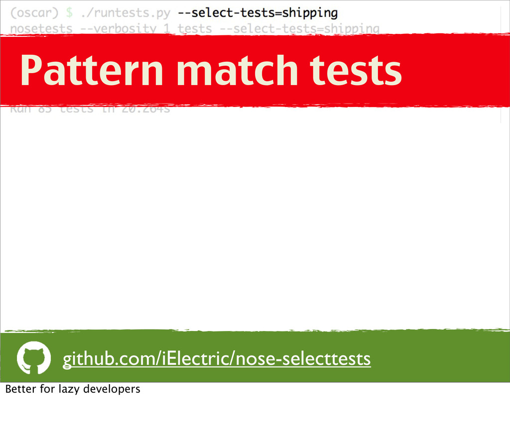 Pattern match tests github.com/iElectric/nose-s...