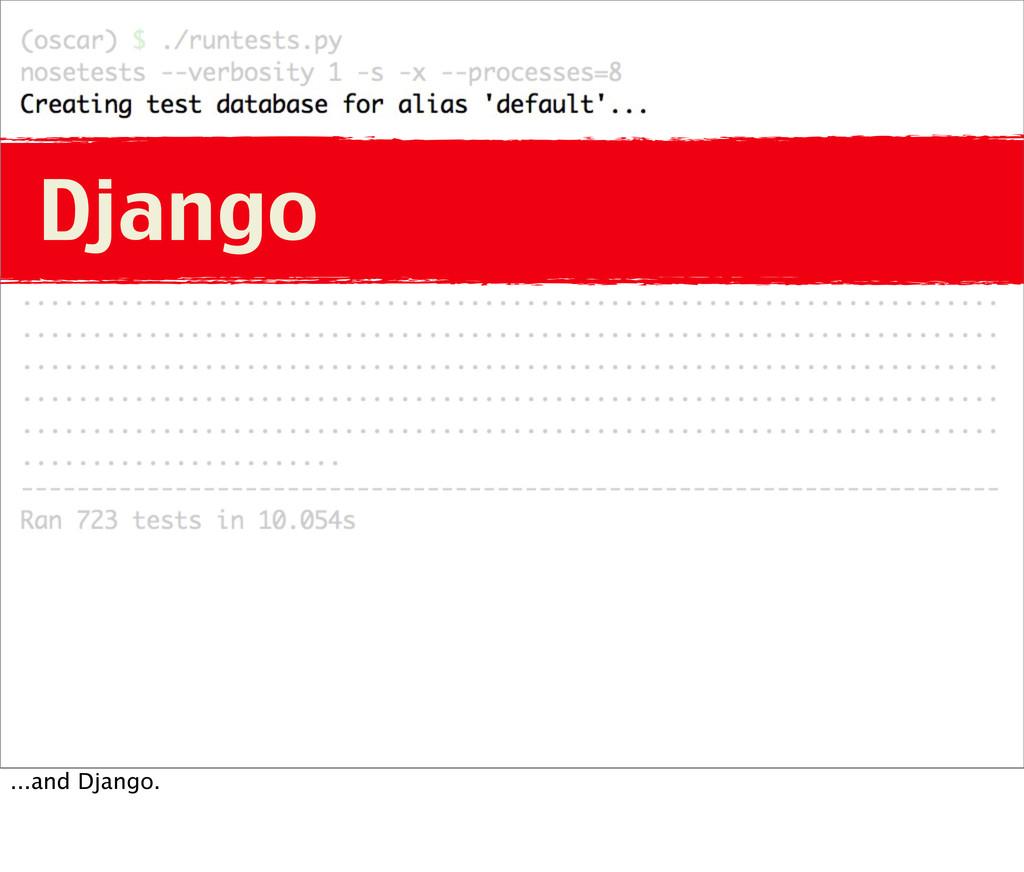 Django ...and Django.