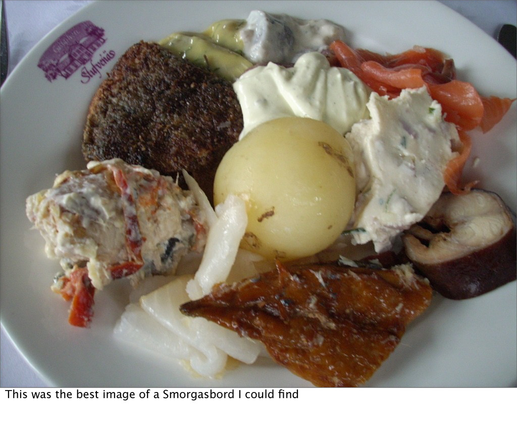 This was the best image of a Smorgasbord I coul...