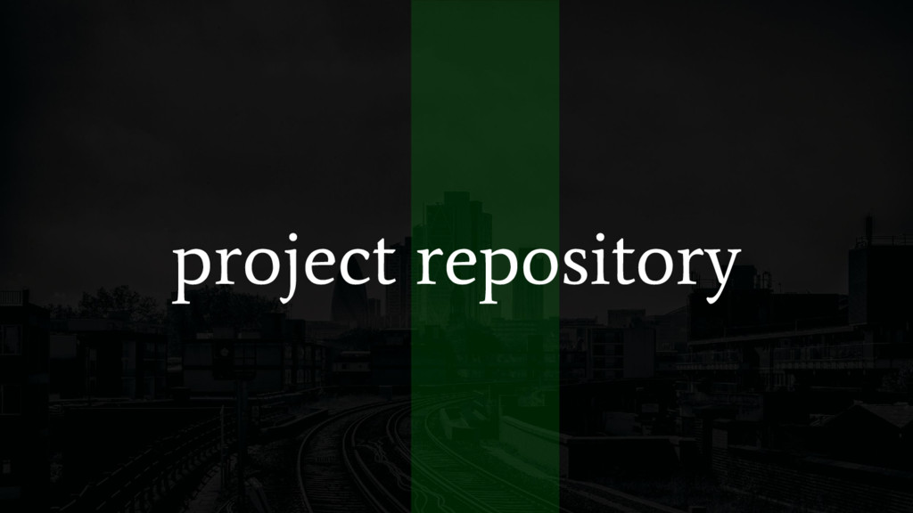 project repository