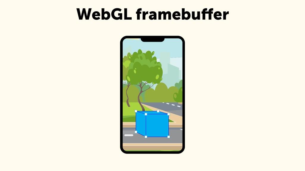 WebGL framebuffer