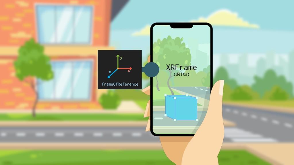 XRFrame (delta) frameOfReference