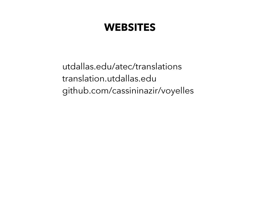 WEBSITES utdallas.edu/atec/translations transla...
