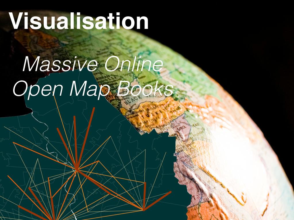 Massive Online Open Map Books Visualisation