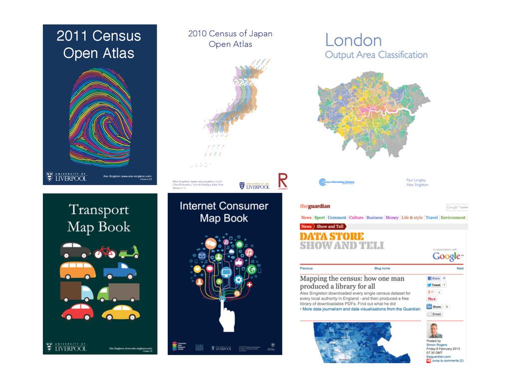 2010 Census of Japan Open Atlas Alex Singleton ...