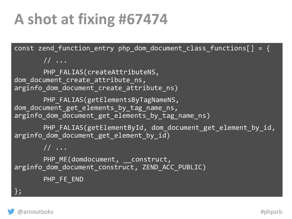 @arnoutboks #phpsrb A shot at fixing #67474 con...