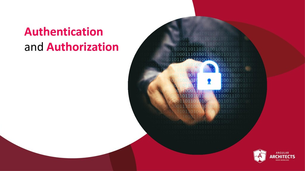 @ManfredSteyer Authentication and Authorization
