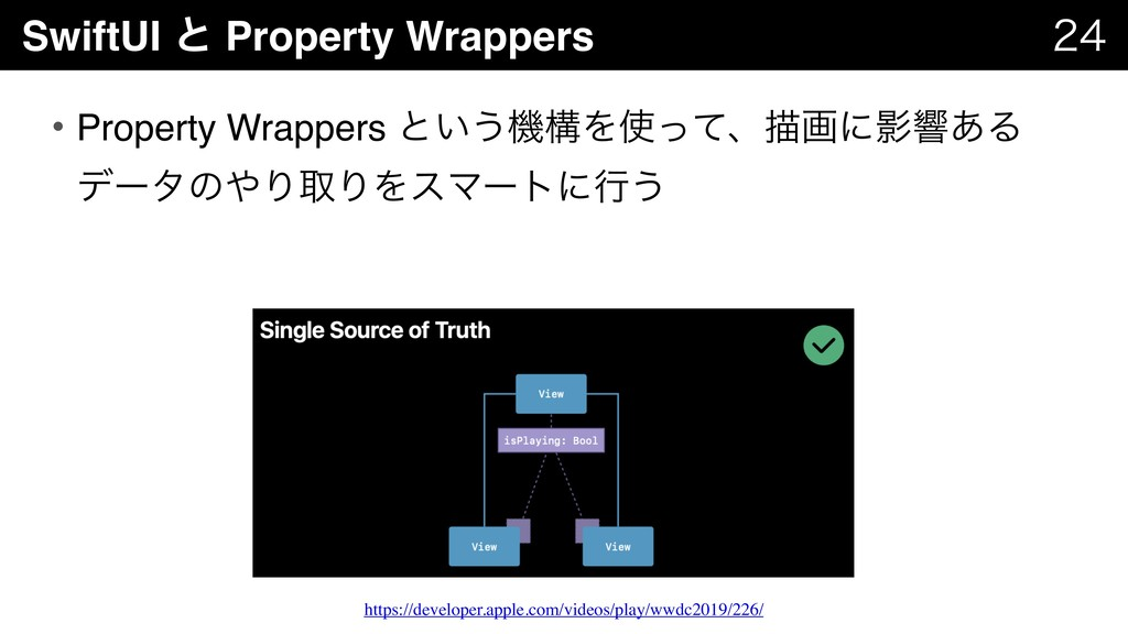 SwiftUI ͱ Property Wrappers   • Property Wra...