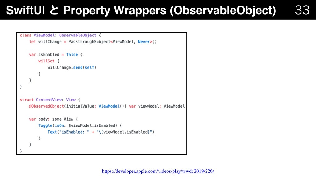 SwiftUI ͱ Property Wrappers (ObservableObject) ...