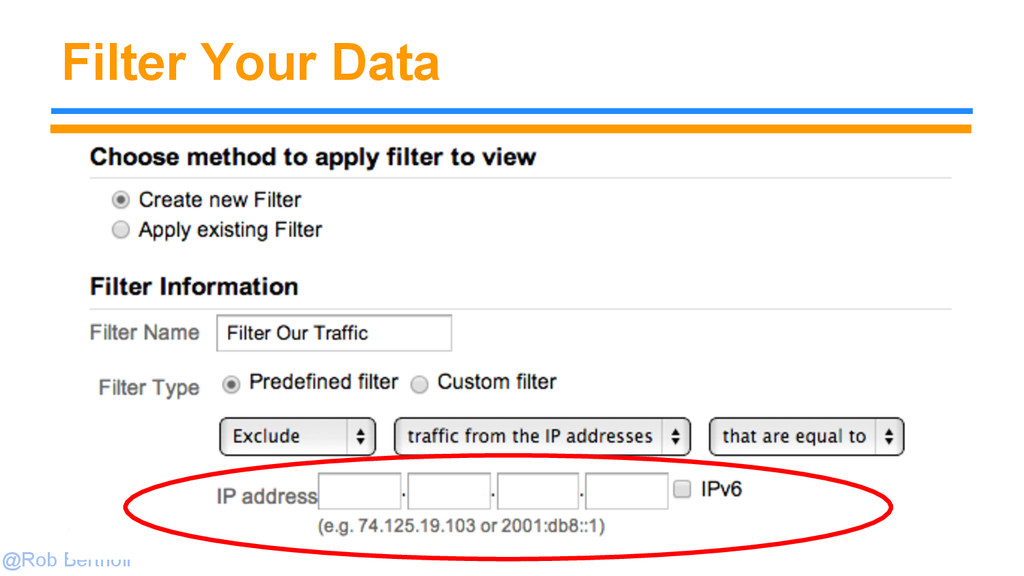 @Rob Bertholf Filter Your Data