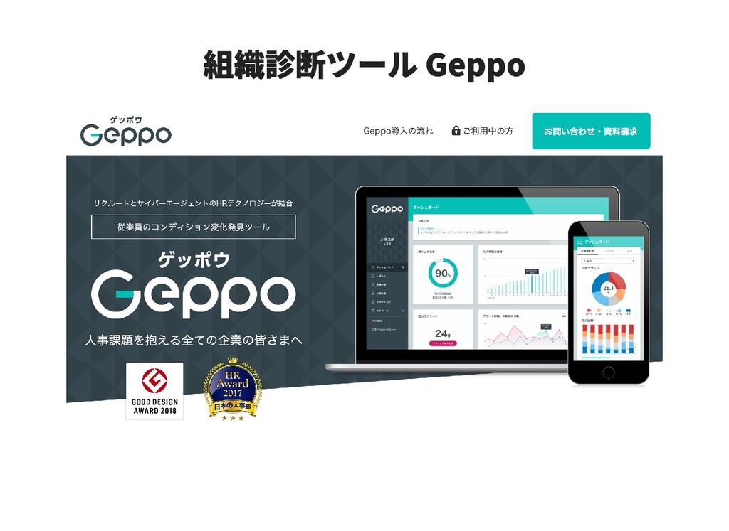 組織診断ツール Geppo 組織診断ツール Geppo