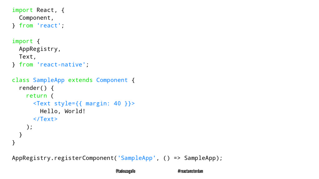 import React, { Component, } from 'react'; impo...