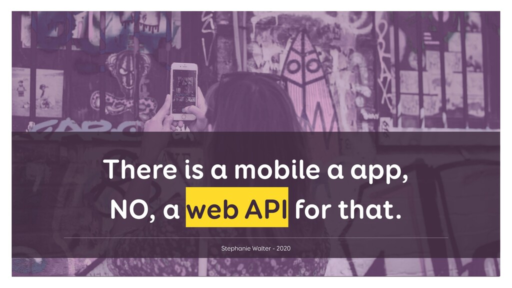 Stephanie Walter - 2020 There is a mobile a app...