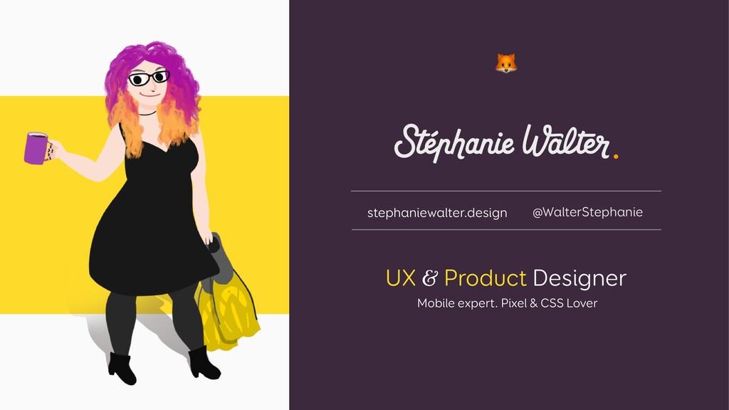 UX & Product Designer Mobile expert. Pixel & CS...