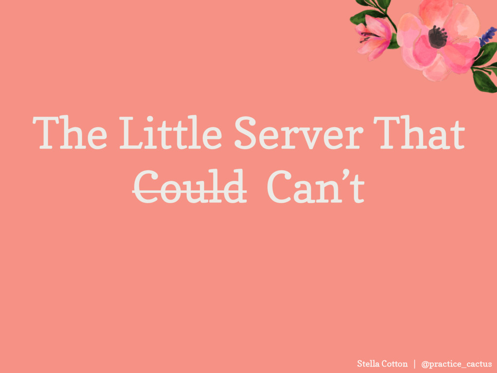 Stella Cotton | @practice_cactus The Little Ser...