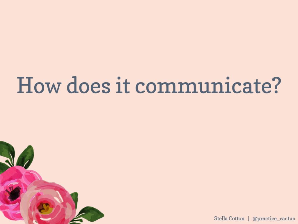 Stella Cotton | @practice_cactus How does it co...