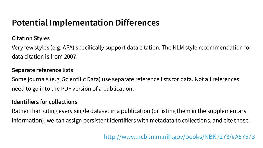 Potential Implementation Differences Citation S...