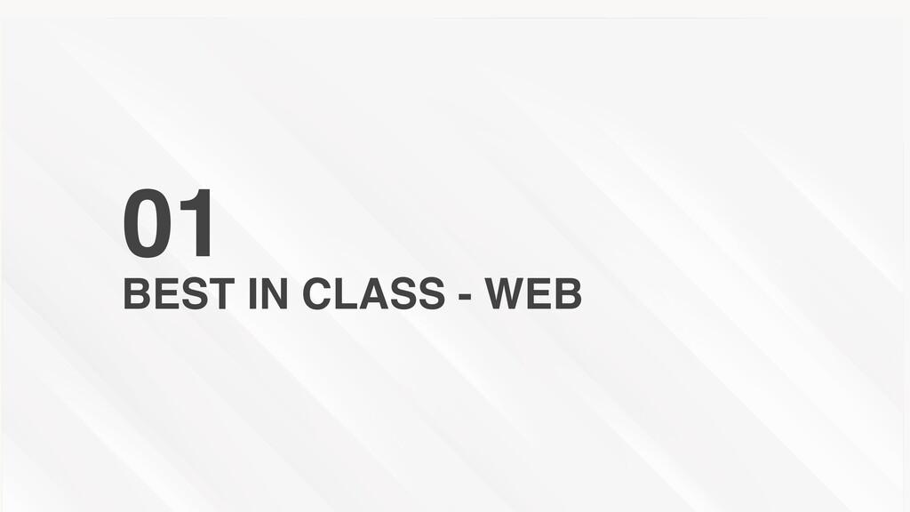 BEST IN CLASS - WEB 01