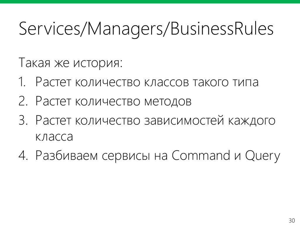 30 Services/Managers/BusinessRules Такая же ист...