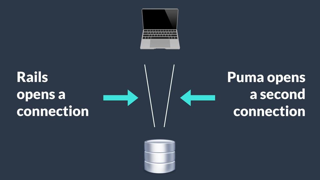 Puma opens a second connection Rails opens a c...