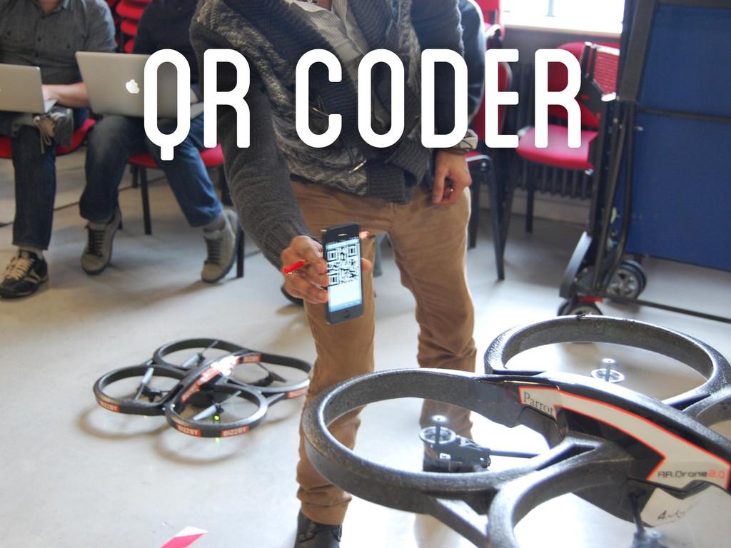 QR CodeR