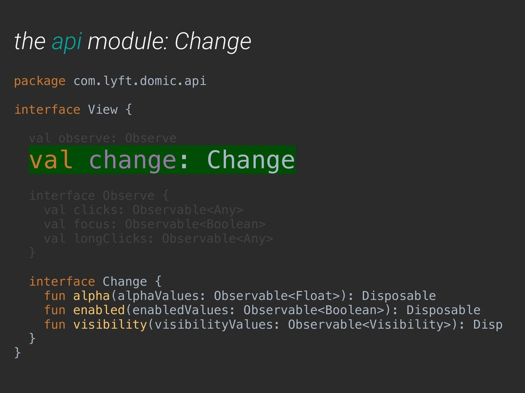 the api module: Change package com.lyft.domic.a...