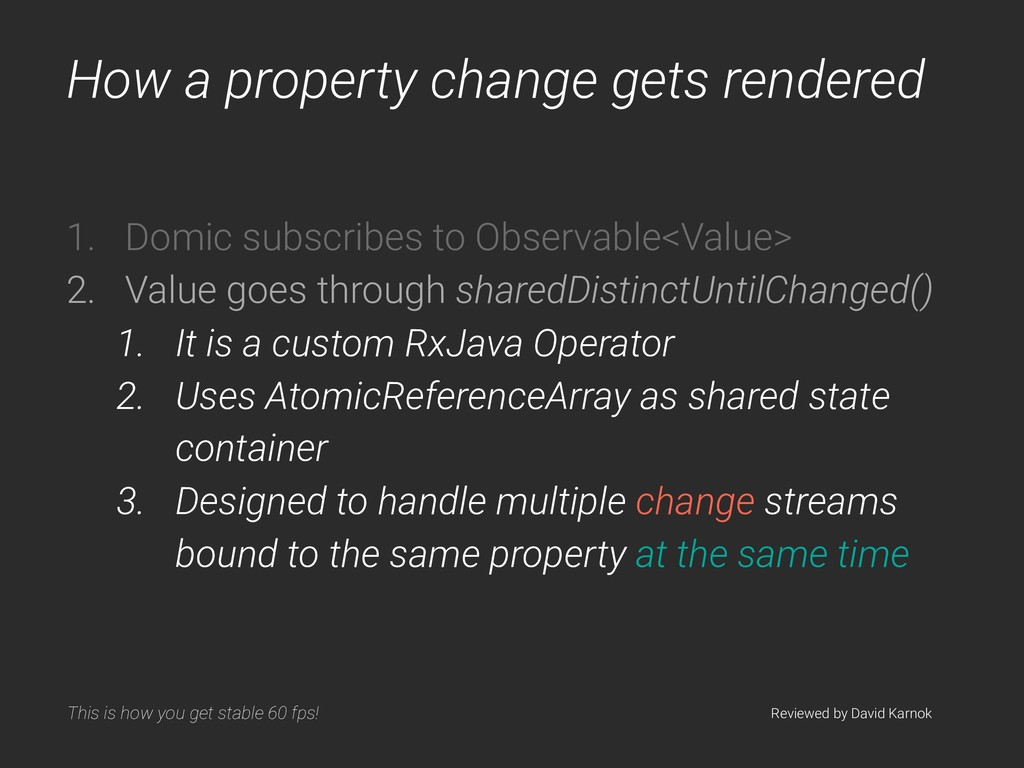 How a property change gets rendered 1. Domic su...