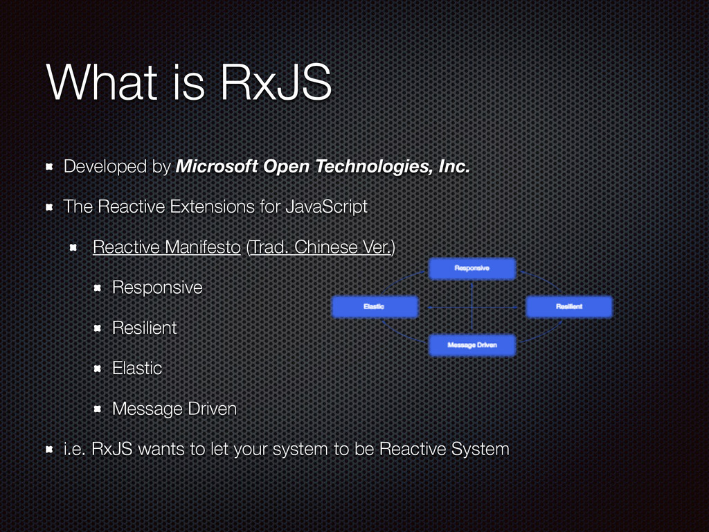 What is RxJS Developed by Microsoft Open Techno...