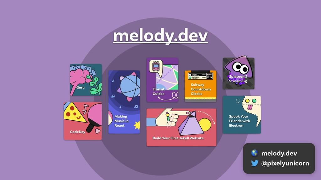 melody.dev