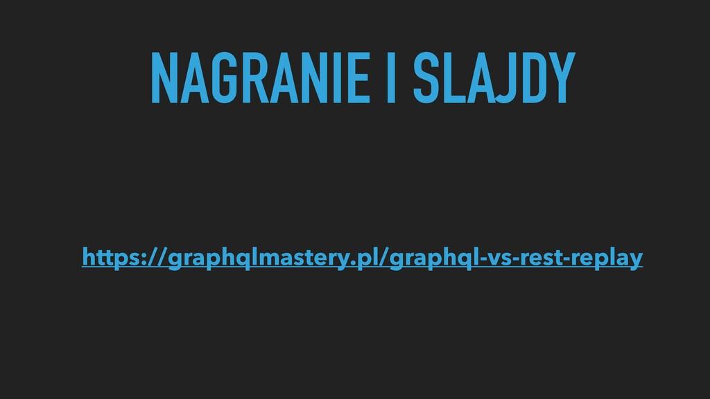NAGRANIE I SLAJDY https://graphqlmastery.pl/gra...