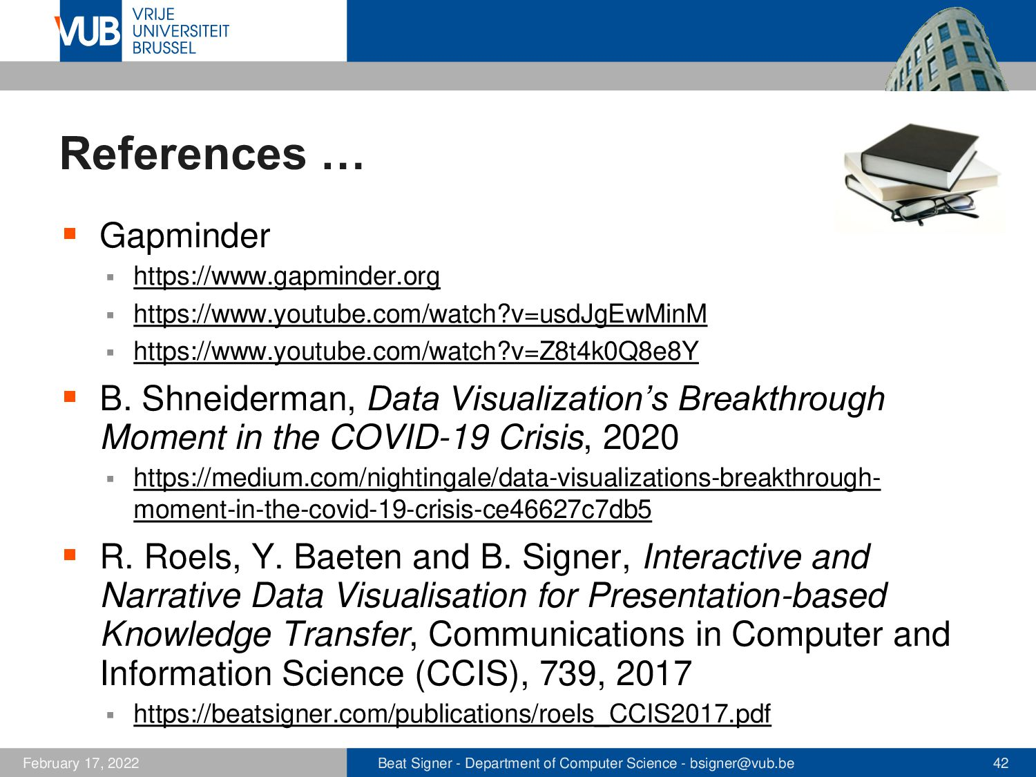 2 December 2005 Next Lecture Human Perception a...