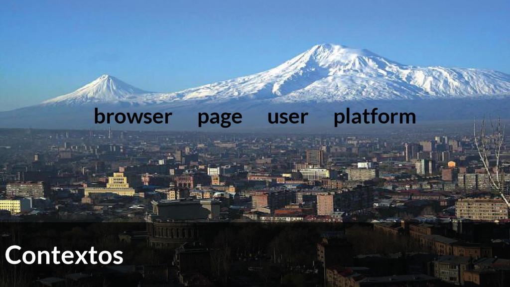 browser page user platform Contextos