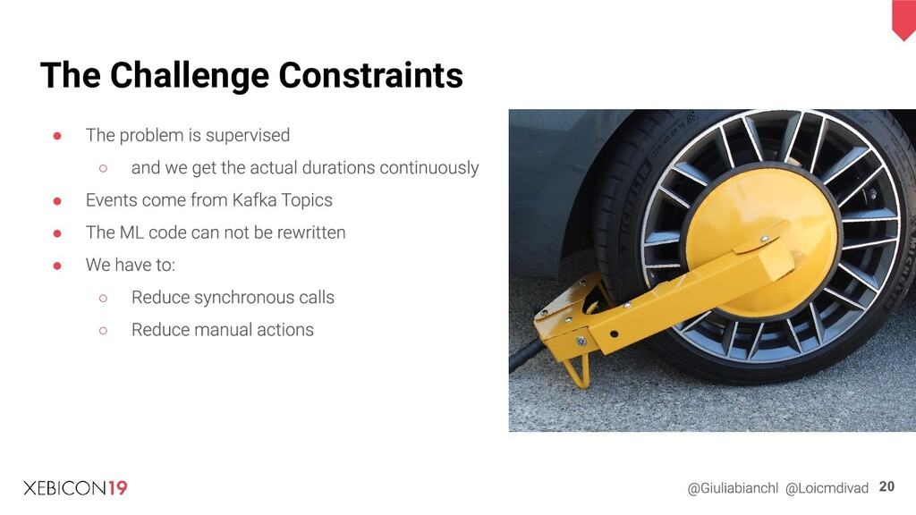 The Challenge Constraints ● ○ ● ● ● ○ ○ 20