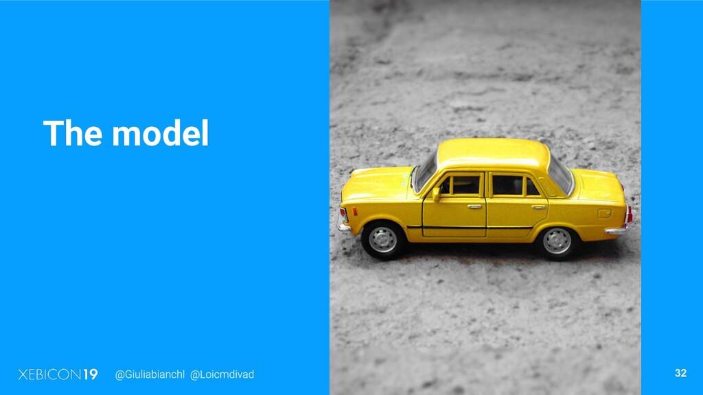 The model 32