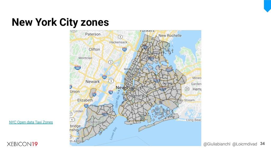 34 New York City zones