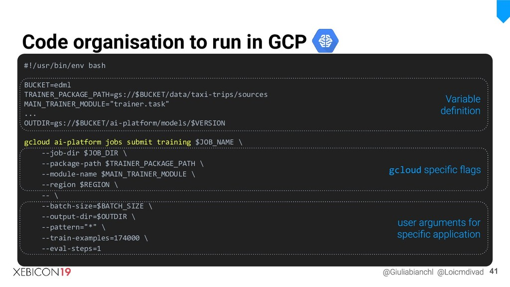 Code organisation to run in GCP #!/usr/bin/env ...