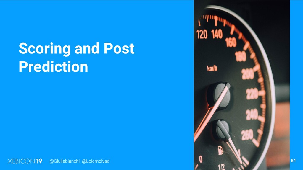 Scoring and Post Prediction 51