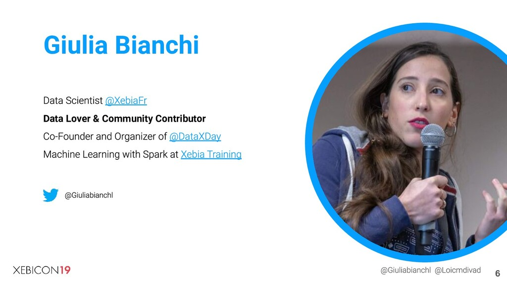 Data Lover & Community Contributor Giulia Bianc...
