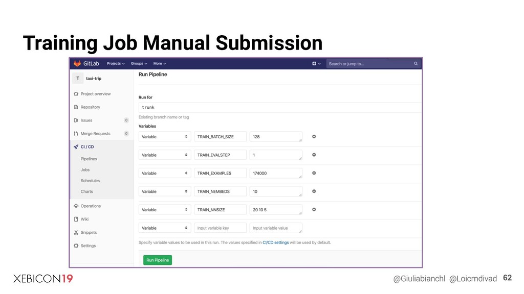 Training Job Manual Submission 62